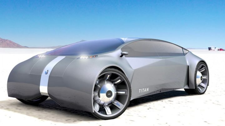 Imagen del concept car de Apple, el vehículo eléctrico que Hyundai podría fabricar