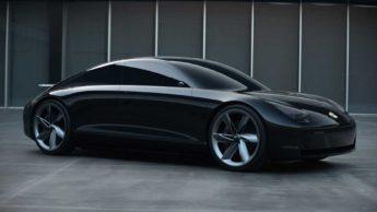 Ilustração Apple Car o elétrico autónomo da empresa de Cupertino