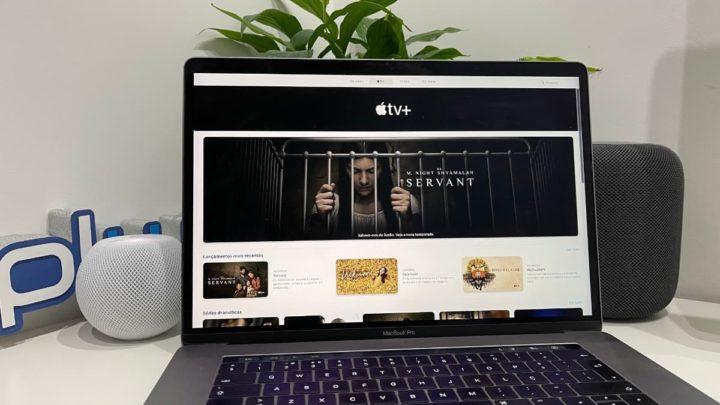 Ilagem Apple TV + no macOS Big Sur