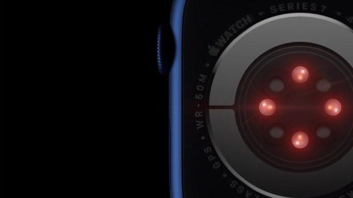 Imagem Apple Watch com ilustração câmara de luz