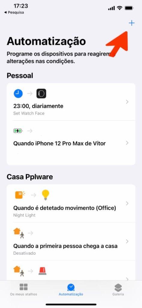 Imagem Atalhos iOS