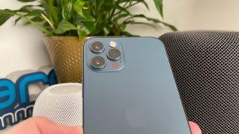 Ilustração das câmaras do iPhone da Apple