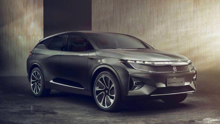 Imagem do SUV elétrico chinês Byton M-Byte