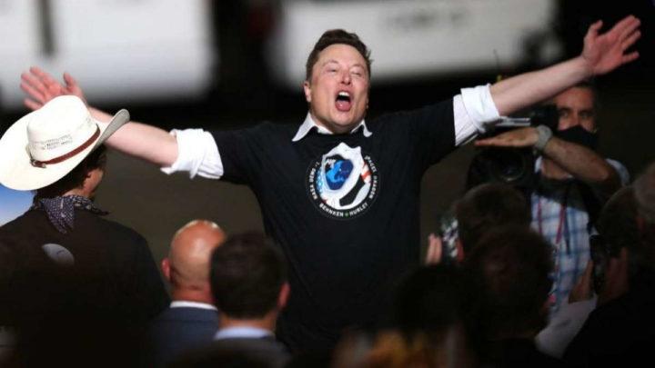 Elon Musk Jeff Bezos Tesla bolsa rico