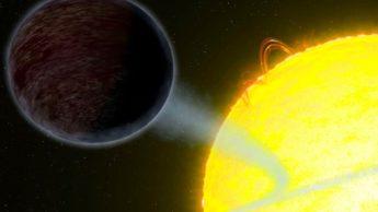 Ilustração de exoplaneta WASP-69b