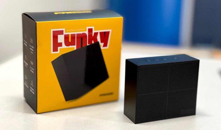 Funky: A coluna Wireless que pode levar para todo o lado