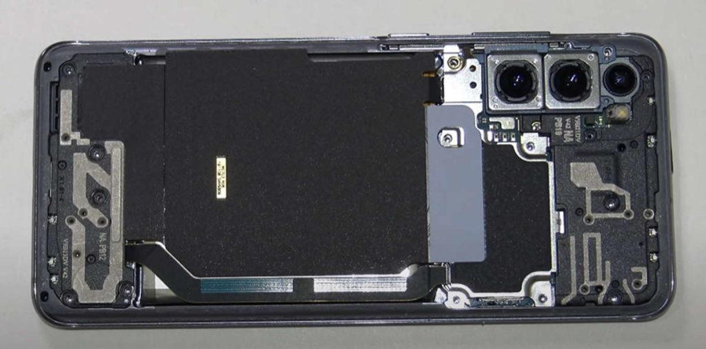 S21 Galaxy Samsung reparar modelo