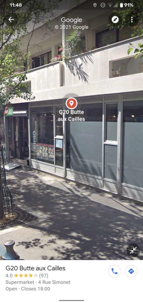 Google Maps Street View utilizadores novidade vista