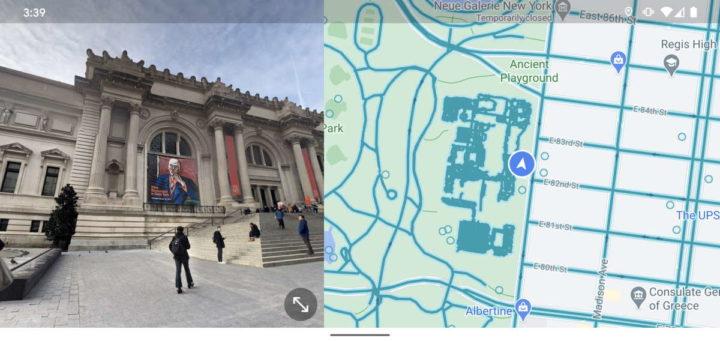 Nueva vista de los usuarios de Street View de Google Maps