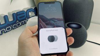 Imagem HomePod mini em estéreo