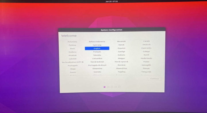 Linux Mac M1 SoC Apple