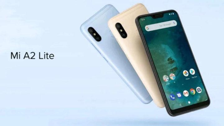 Xiaomi Mi A2 Lite atualização segurança smartphone