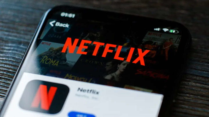 Netflix interface Android serviço tempo