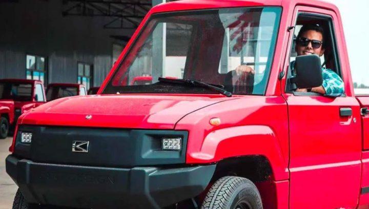 Alibaba tem pickup elétrica que custa pouco mais de 3 mil euros