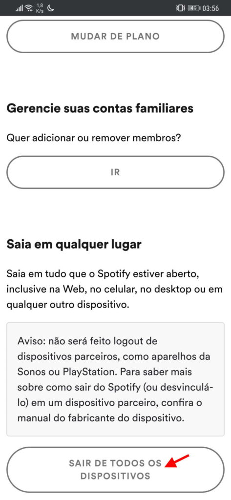 Spotify account security password measures