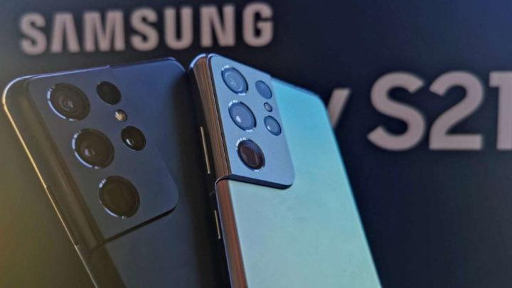 S21 Galaxy Samsung atualização bateria