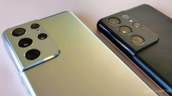 Galaxy S21 Samsung smartphone fotografia