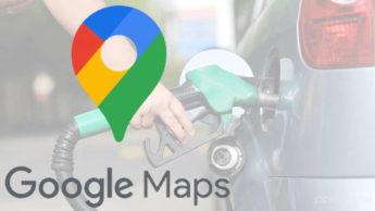 Google Maps preço combustíveis condutor