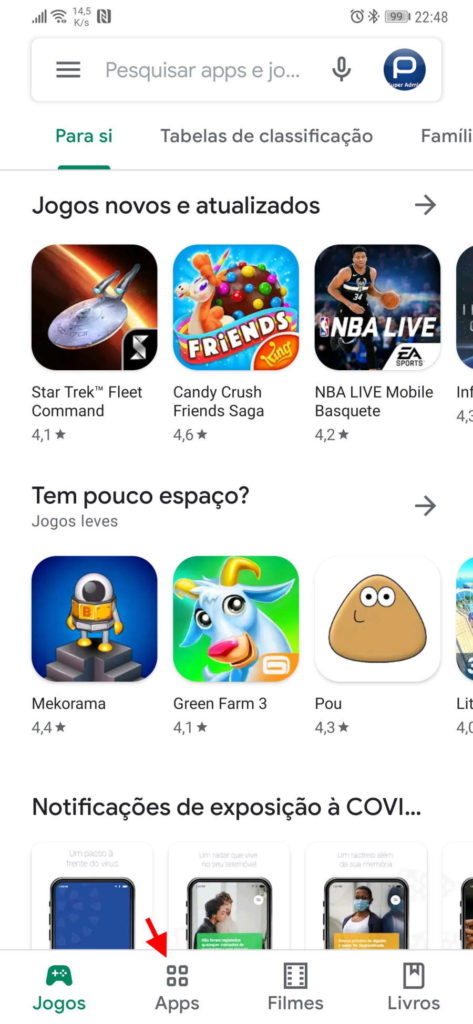 jogos Play Store Android offline smartphone