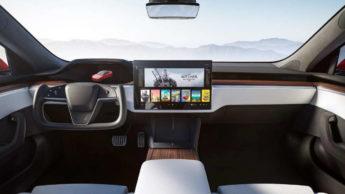 Tesla Model S interiores surpreender modelo