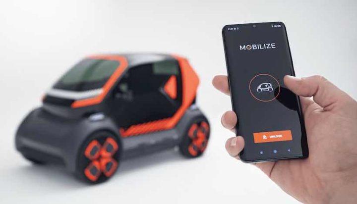 Mobilize EZ-1: O veículo que se liga e interage com o smartphone