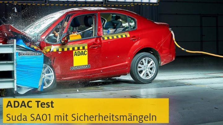 Suda SA01: O carro elétrico que é um desastre na segurança