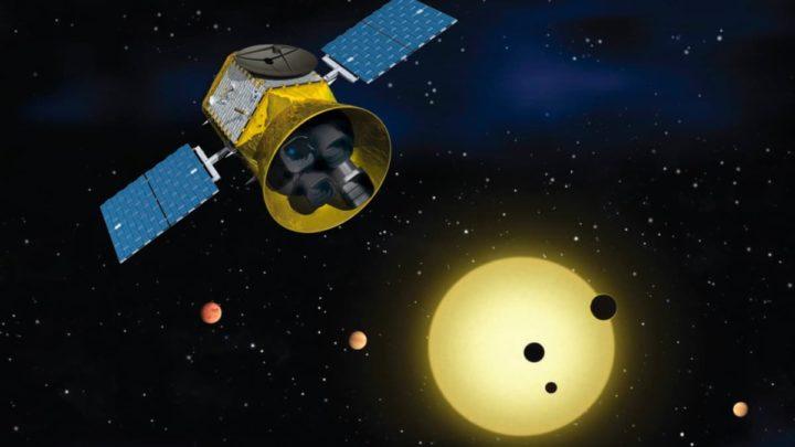 Imagem observatório NASA TESS