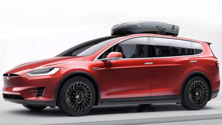 Tesla carrinha elétrica baterias Elon Musk