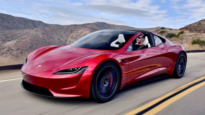 Tesla Roadster Elon Musk mercado elétrico