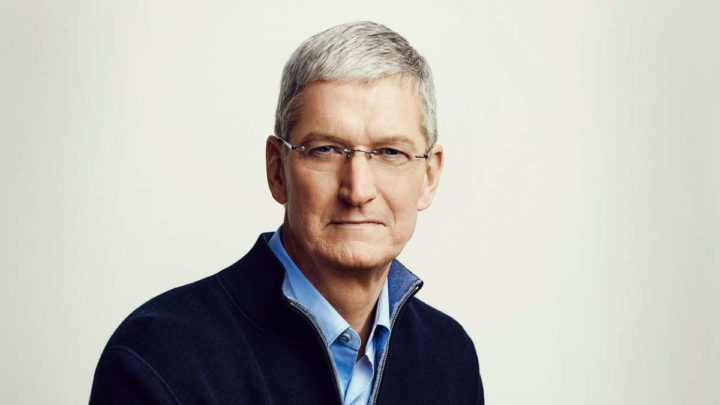 Tim Cook Apple ordenado CEO valores