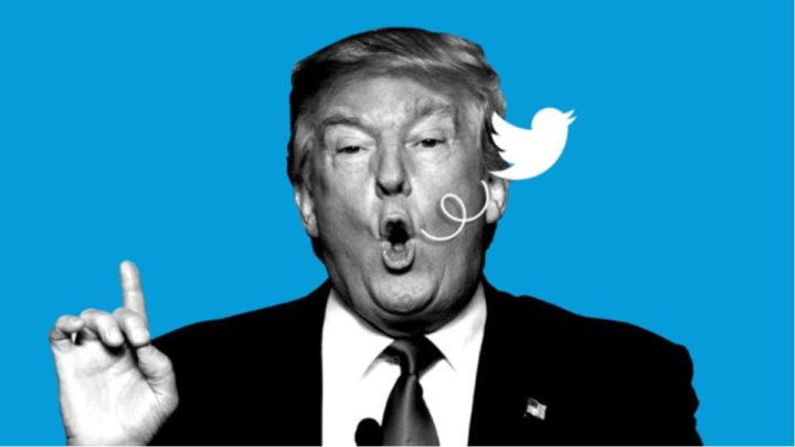 Twitter Donald Trump EUA redes sociais bloqueada