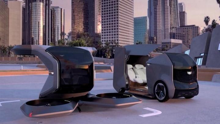 Cadillac futuristas