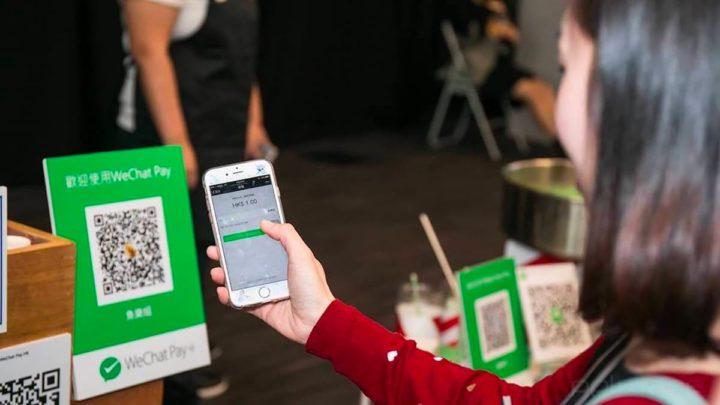 Imagem do WeChat Pay, uma das muitas apps chinesas de pagamentos