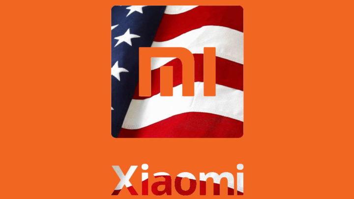 Xiaomi EUA Donald Trump lista negra