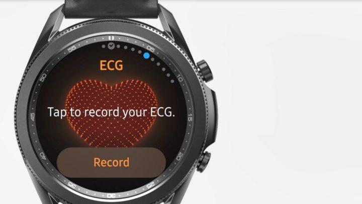 Monitorização de pressão arterial e ECG disponíveis em wearables da Samsung