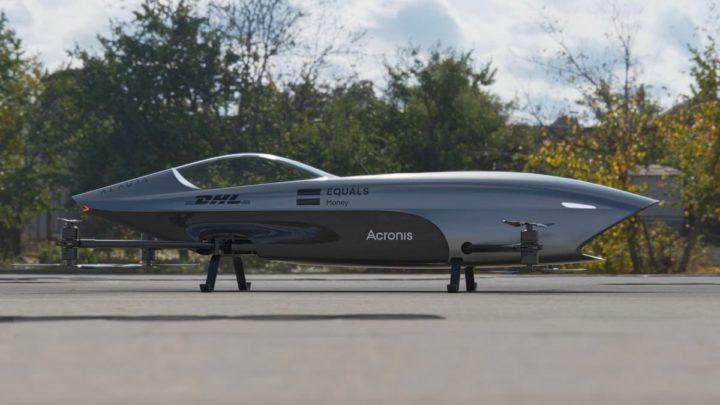 Imagem Airspeeder, o carro voador elétrico