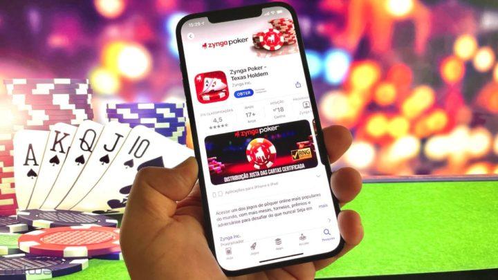 Imagem apps de casino na App Store da Apple