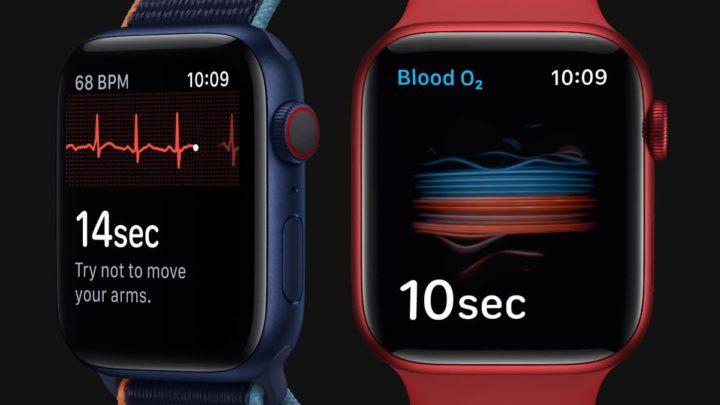 Imagem Apple Watch saúde