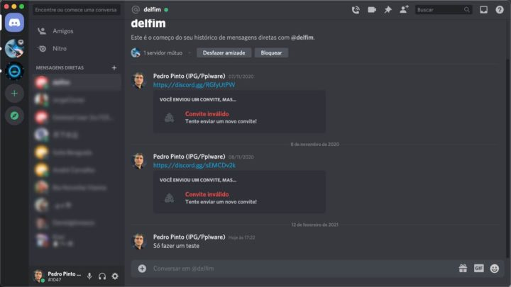 Discord can also replace WhatsApp, Signal or Telegram