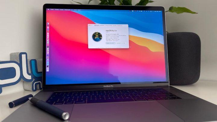 Imagem macOS Big Sur com gestão das aplicações