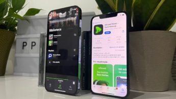 Imagem app e serviço de música streaming esound