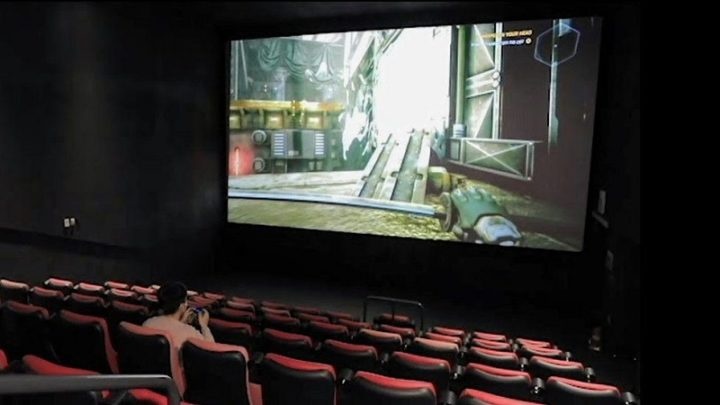 Gamers no cinema CGV