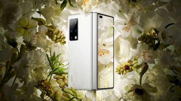 Mate X2 Huawei dobrável ecrã