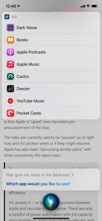 Aplicaciones Siri Photo Music en iOS 14.5 beta 1