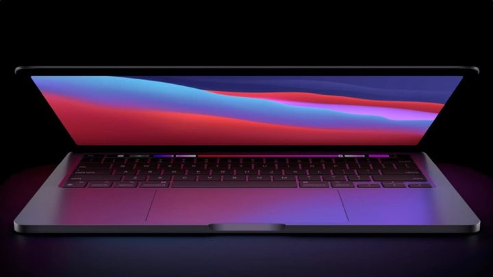 MacBook Pro image with M1X chipset