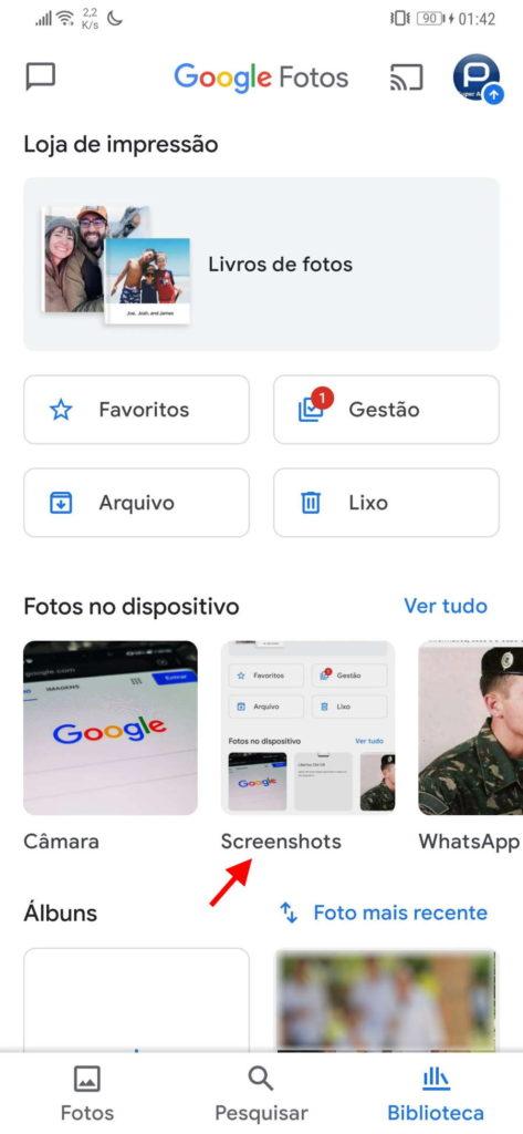 Google Fotos fotografias espaço ganhar