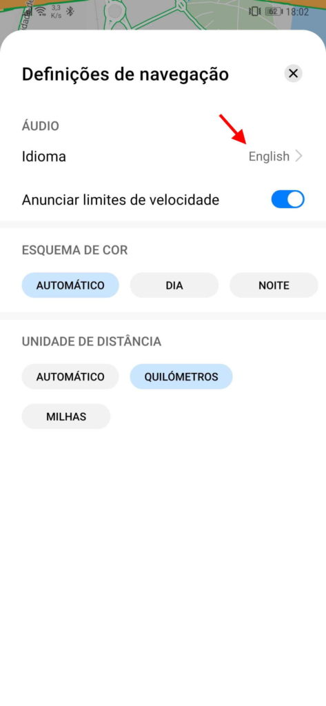 Petal Maps português Huawei navegar serviço