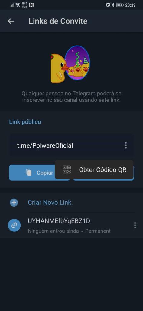 Telegram novidades versão grupos melhorias