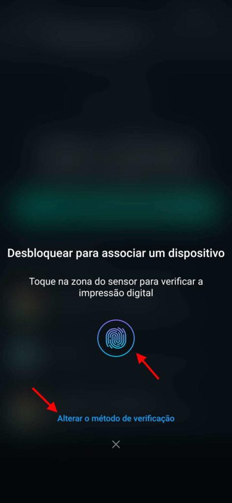 WhatsApp Security Fingerprint Face PC