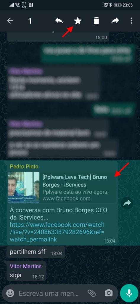 WhatsApp conversas mensagens rápido serviço